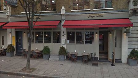 Burger and Lobster in St John Street, Farringdon. Picture: Google Street View