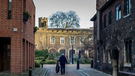 Charterhouse has opened to the public for the first time. Picture: Lawrence Watson