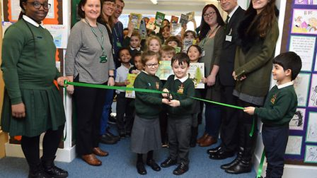 Rotherfield Primary School's library renovation