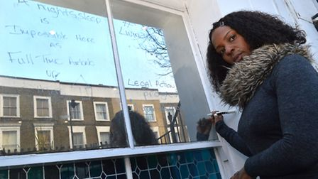 Dionne Duncan wrote about her plight of living under a noisy Airbnb on her front window in Offord Ro