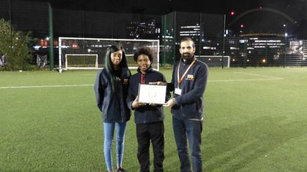 Ark Academy Wembley are winners of the Outstanding London Sports Venue Award from MyLocalPitch