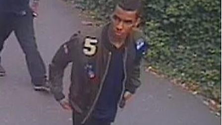 The man police would like to speak with in connection with a sexual assault in Kilburn Picture: