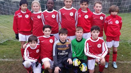 The Islington Primary Schools squad that defeated Barking 6-2