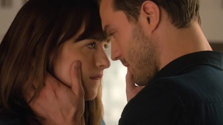 Dakota Johnson and Jamie Dornan in Fifty Shades Darker. Picture: Doane Gregory/Universal Pictures