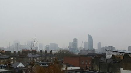 Air pollution above London (Picture: Will McCallum)