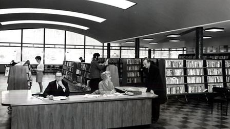 Finsbury Library in 1967. Picture: Islington Local History Centre