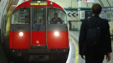 A six-year-old girl was assaulted on a Piccadilly line train. Picture: Andrew Parsons/PA
