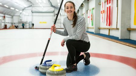 As part of the SSE Next Generation Programme, Arsenal Ladies' Anna Patten tried her hand at curling.