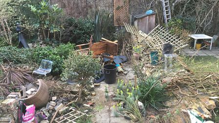 Thames Water is still negotiating to get access to the gardens. Picture: Sam Gelder
