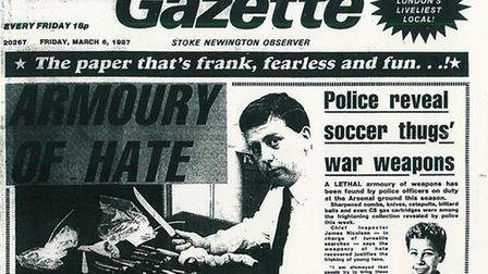 Islington Gazette: March 6, 1987