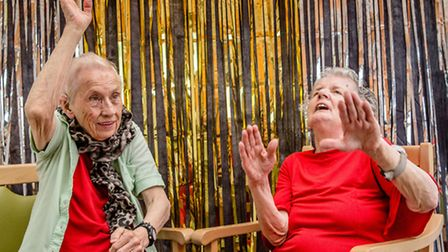 The programme helps isolated older people in Islington. Picture: Leticia Valverdes