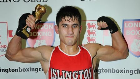Islington Boxing Club's Masood Abdullah. Picture: DIETER PERRY