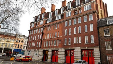 Clerkenwell Fire Station shut in 2014: one of the so called 'planning fiascos' in the area. Picture: