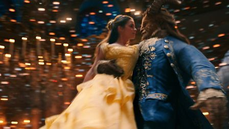 Emma Watson and Dan Stevens star as Beauty and the Beast. Picture: Disney/Laurie Sparham