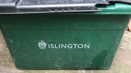 The Editor' s recycling bin was among those not collected for a week.