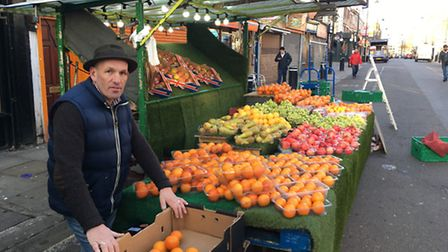 David Twydell, chairman of the Chapel Market Traders Association, said the gang brawls with impact s