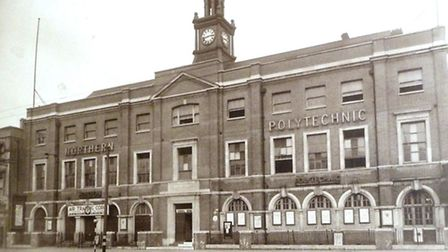 Northern Polytechnic Institute in Holloway Road, 1942. Picture: London Metropolitan University Archi