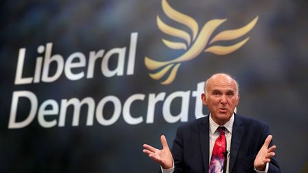 Sir Vince Cable will use his conference speech to attack Theresa May on Brexit Photo: PA / Gareth F