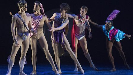 Project Polunin performing Narcissus and Echo at Sadler's Wells. Picture: Alastair Muir