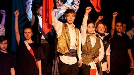 The standard of music and drama at Highbury Grove School has been praised by the City of London Cor