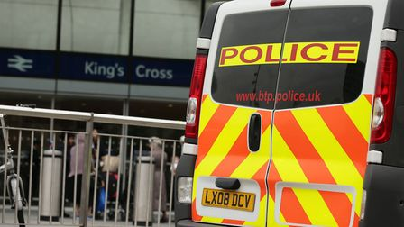 The British Transport Police cop was based at King's Cross St Pancras. Picture: Yui Mok/PA