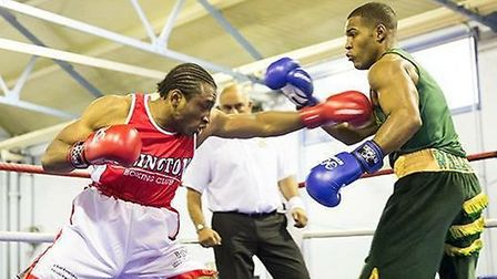 Islington Boxing Club's Lamin Conteh is through to the finals of the London Boxing Elite Championshi