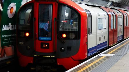 File photo dated 05/08/15 of a Victoria line train leaving Oxford Circus, London, as control room st