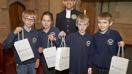 Students from Drayton Park Primary School have won the first Christ's Hospital maths challenge. Cred