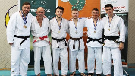 Members of Sobell Judo Club competed in Greece