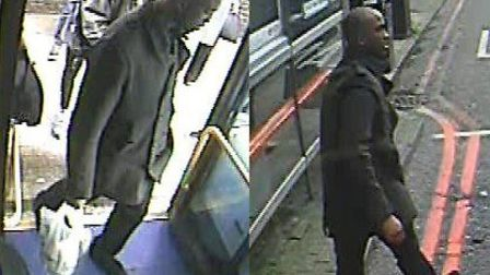 Do you know this man? A CCTV still from the Upper Street assault on Tuesday. Picture: Met Police