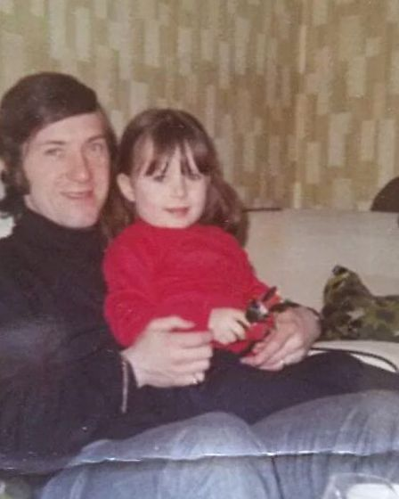 Geordie Armstrong and daughter JIll