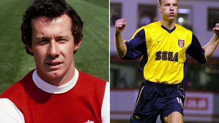 Brady Dennis Bergkamp Wright is probably named after Arsenal legends Liam Brady and Dennis Bergkamp.