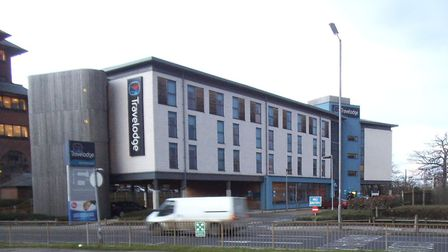 Brady Dennis Bergkamp Wright admitted causing £4,000 of damage to Travelodge in Borehamwood, as well