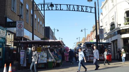 Chapel Market is a traditional Islington high street. But for how much longer? Picture: Polly Hancoc