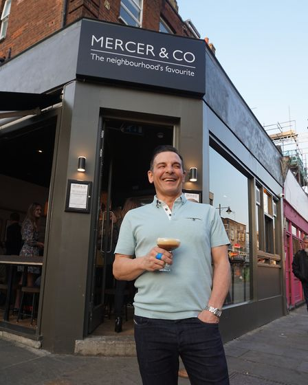 Alex Foley, owner of Mercer and Co salt beef bar in Chapel Market. Picture: Carline Cheng