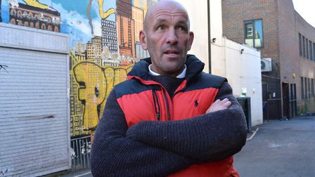 David Twydell, outgoing chairman of the Chapel Market Traders Association. Picture: Polly Hancock