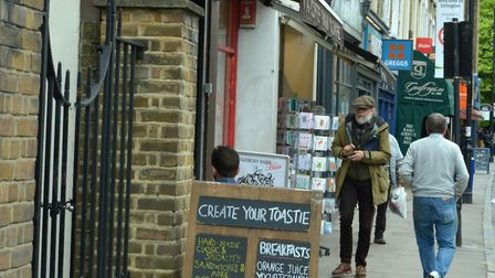 Shopkeepers in Highbury Park have pleaded for CCTV to protect against burglars. Picture: Polly Hanco
