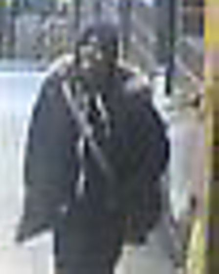Police have released CCTV images after teenager stabbed in Queensbury Tube station (Picture: BTP)