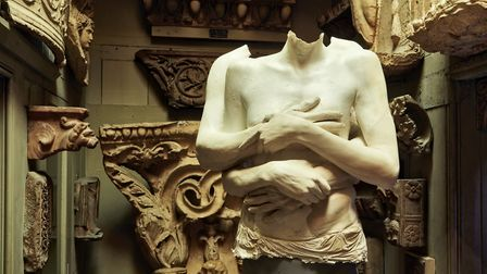 All About Love - Untrimmed, Soane Corridor. Courtesy of Marc Quinn