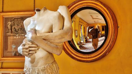 All About Love - Breathe, Soane South Drawing Room. Courtesy of Marc Quinn
