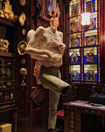 All About Love - Hot, Soane Monks Parlous. Courtesy of Marc Quinn
