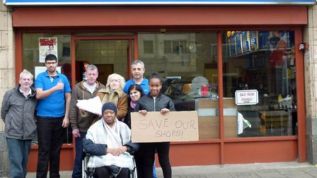 Residents in Dollis Hill have launched a petition to save Gladstone Parade and the popular Skippers