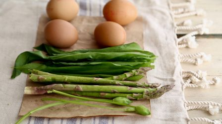 Eggs and asparagus. Picture: Kerstin Rodgers