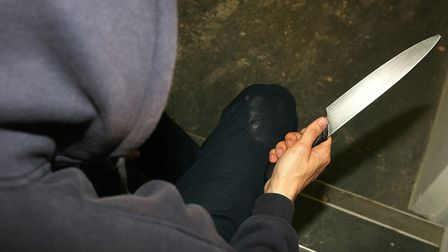 The event was held to highlight the dangers of gun and knife crime. Picture: Katie Collins/PA Wire/P