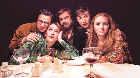 Simon Bird, Charlotte Ritchie, Matt Berry, Tom Rosenthal and Lily Cole. Picture: Shaun Webb