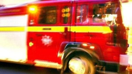 Fire crews from Ilford and Barking fire station were in attendance