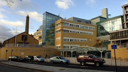 The Whittington Hospital has not been affected by the hack. Picture: PA/S