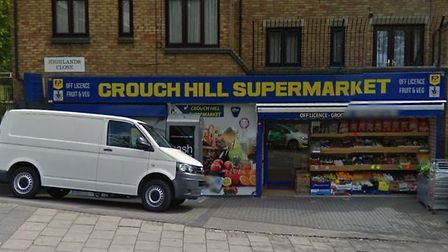 Crouch Hill Supermarket. Picture: Google Maps
