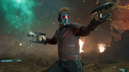 Guardians Of The Galaxy Vol. 2 with Chris Pratt. Picture: Film Frame/Marvel Studios