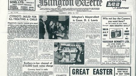 Islington Gazette: April 18, 1957